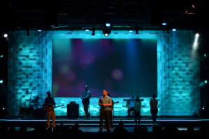 Theater Set Design at Christ's Church of the Valley