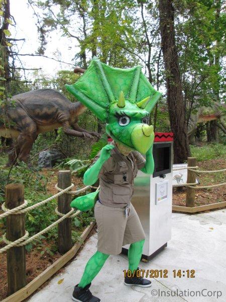 Dorney Park Triceratops