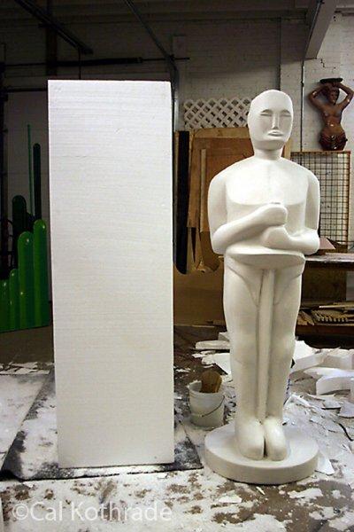 EPS Award Statue by Cal Kothrade 1