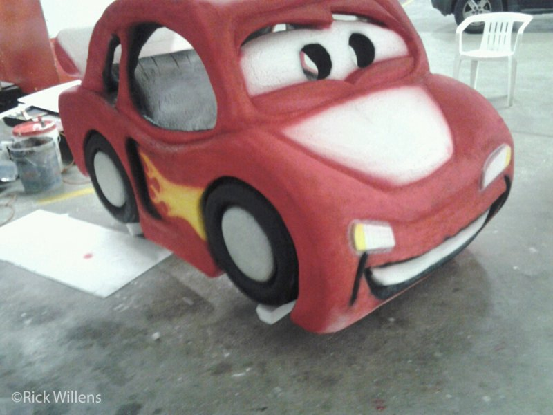 Rick Willens EPS Foam Car Project -12