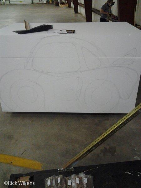 Rick Willens EPS Foam Car Project -2