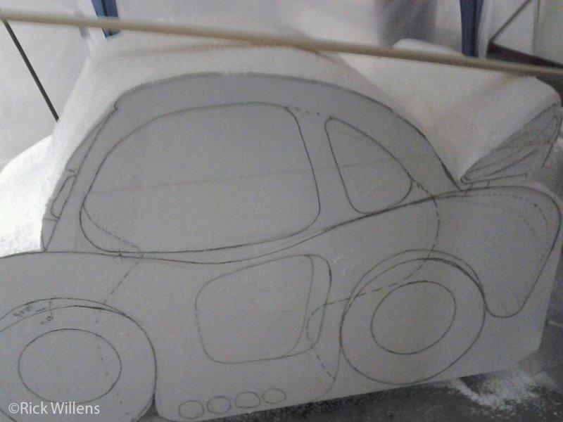 Rick Willens EPS Foam Car Project -3