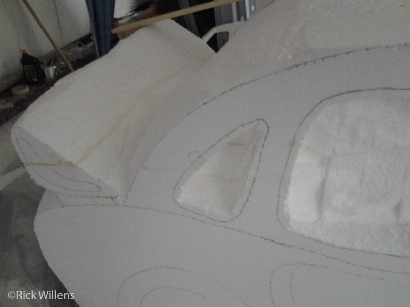Rick Willens EPS Foam Car Project -5