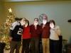 Izzy Santa Selfie