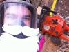 Jesse Santa Selfie 1