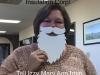 Mary Ann Gordon H Baver Santa Selfie