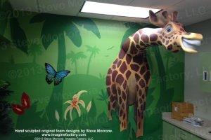 Giraffe Scene