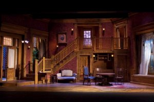 Arsenic & Old Lace Set Design