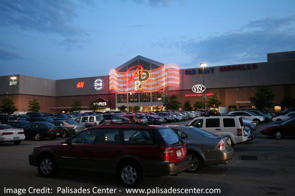 Palisades Center in West Nyack, New York offers stores. Have a look at store list, locations, mall hours, contact, rating and reviews. Address: Palisades Center Drive, West Nyack, New York - 4/4(3).
