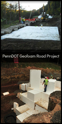 PennDOT Geofoam Road Project