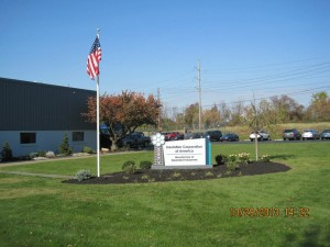 Insulation Corporation of America EPS Sign Installed