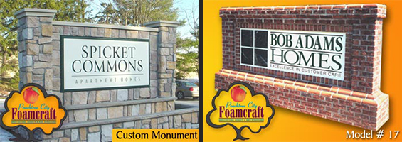Peachtree City Foamcraft EPS Signs