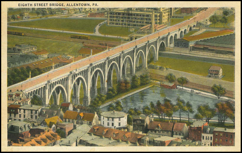8th Street Bridge Postcard