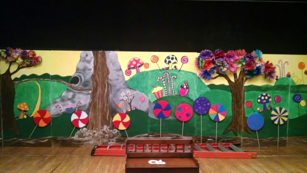EPS Foam Set Designs - Charlie and the Chocolate Factory