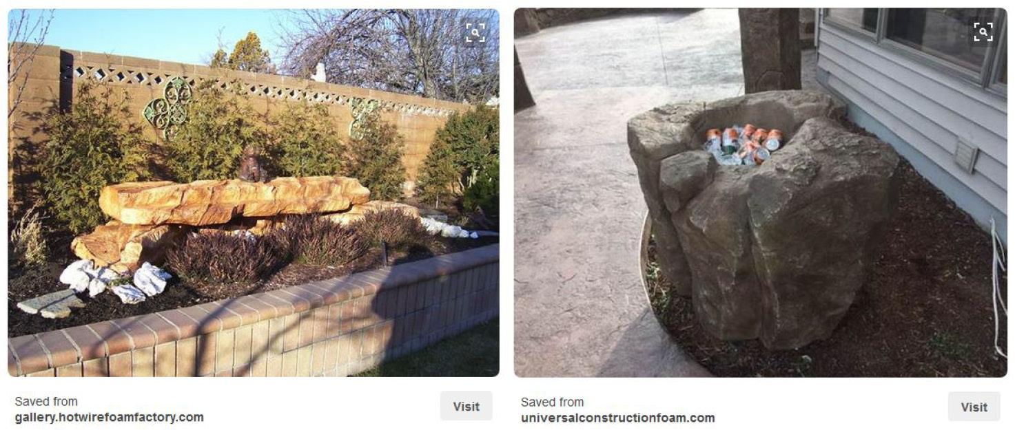 EPS Foam Landscape Architecture