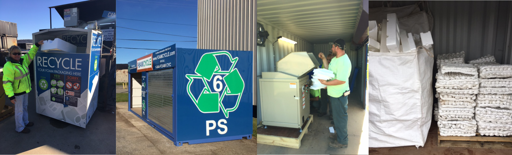 Foam Cycle Recycling EPS Solution