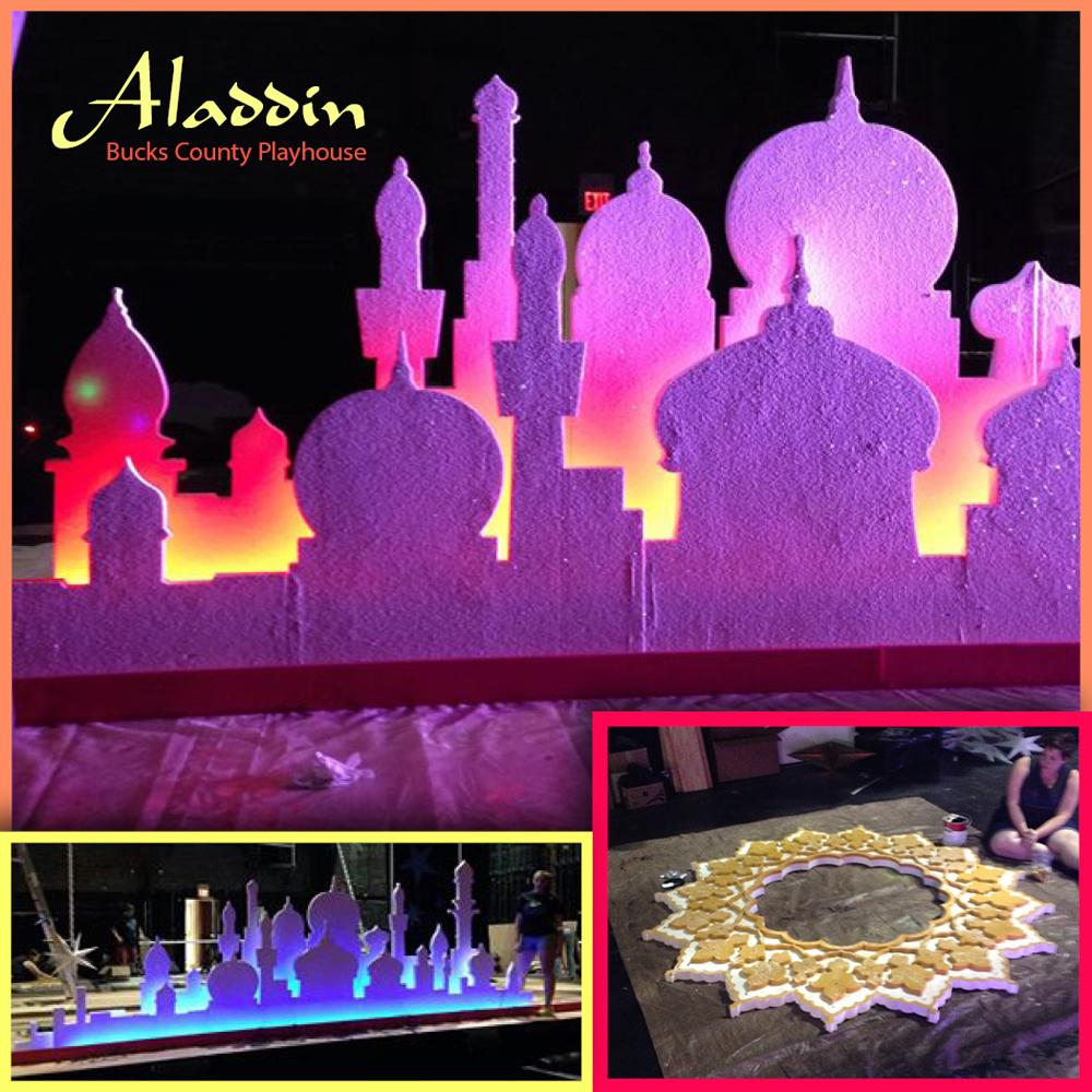 Bucks County Playhouse 2015 production of Aladdin, Jr.