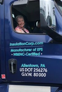 Mrs Higgins goes for a ride with ICA