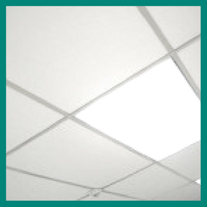 Melt Away Ceiling Titles for Grid Systems