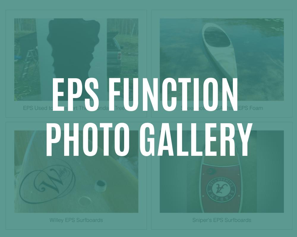 function of eps foam