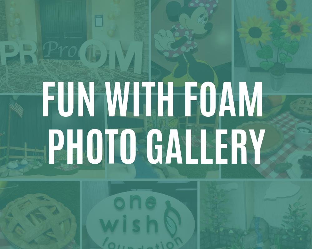 fun with foam photos