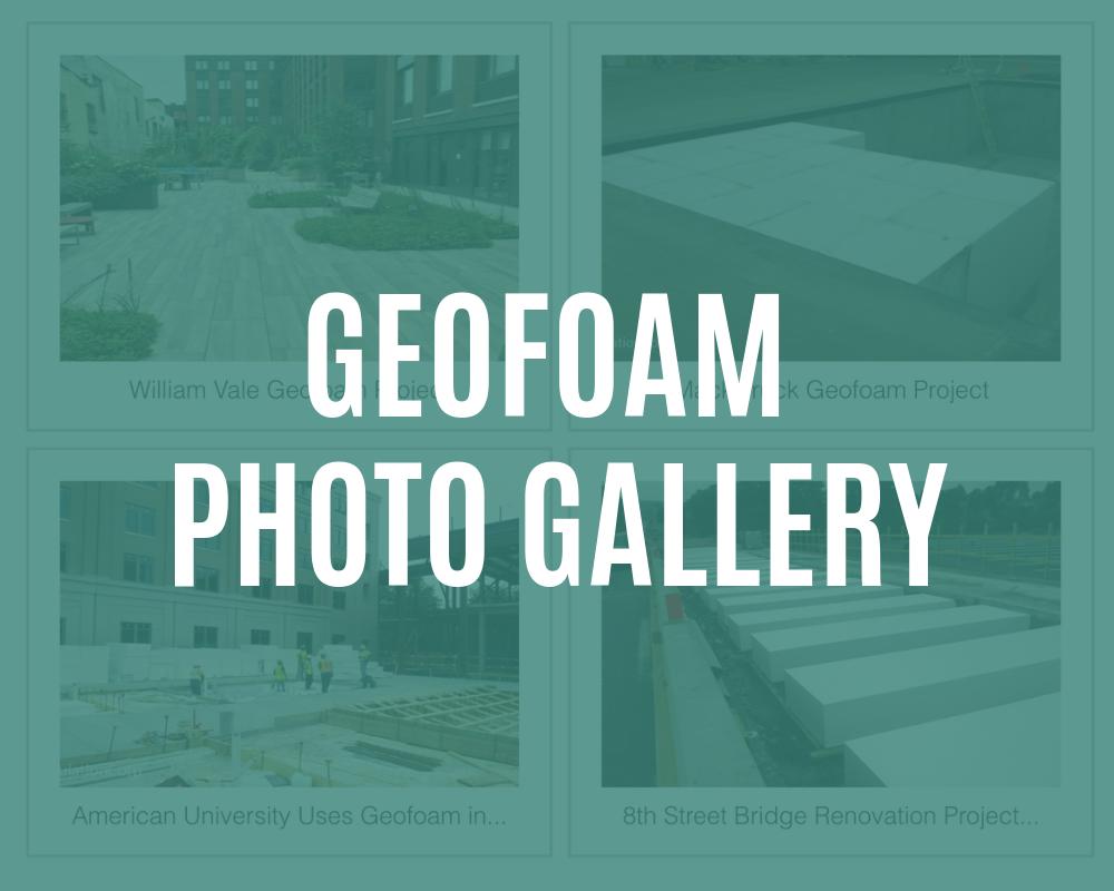 geofoam photo gallery