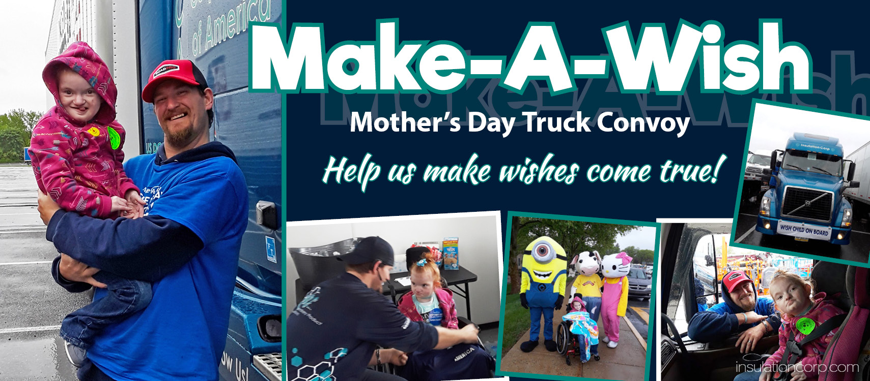 Make-A-Wish Mother's Day Truck Convoy 2020