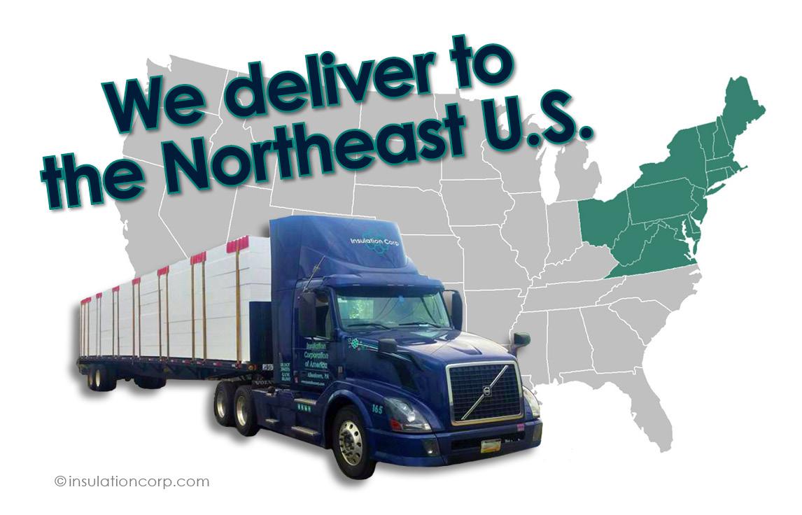 ICA Geofoam blocks delivery in northeast territory
