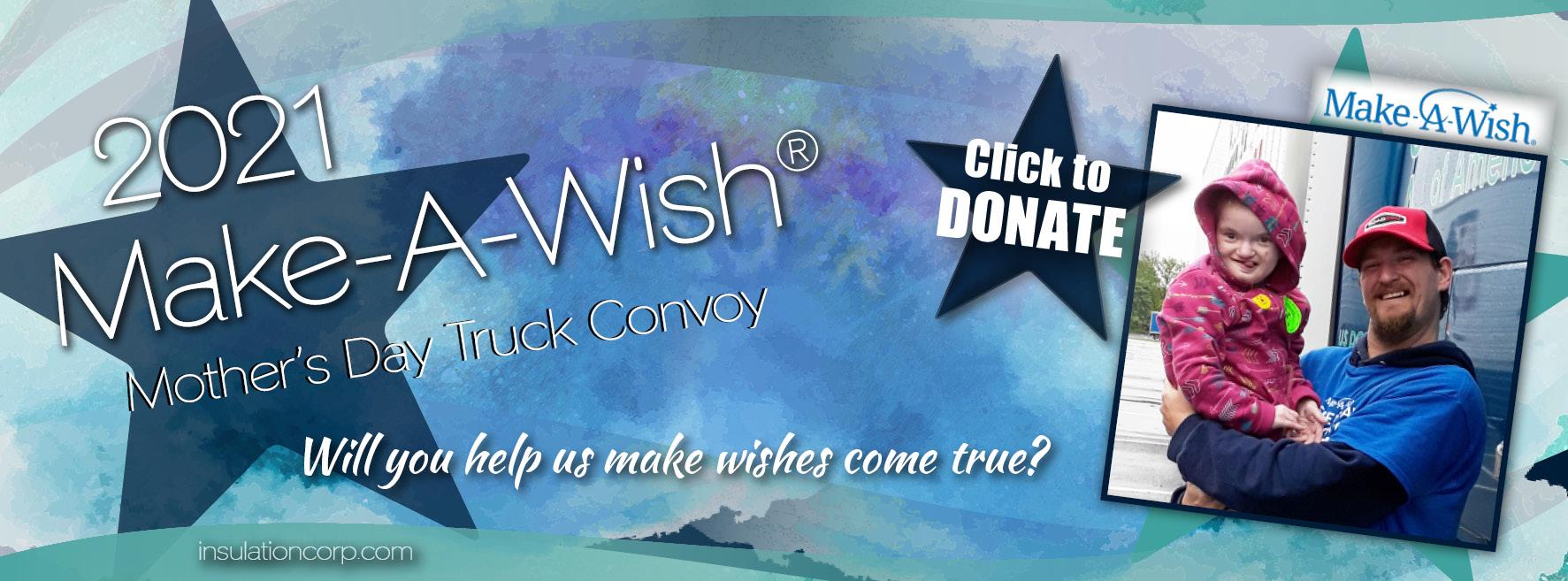 2021 Make-A-Wish Truck Convoy